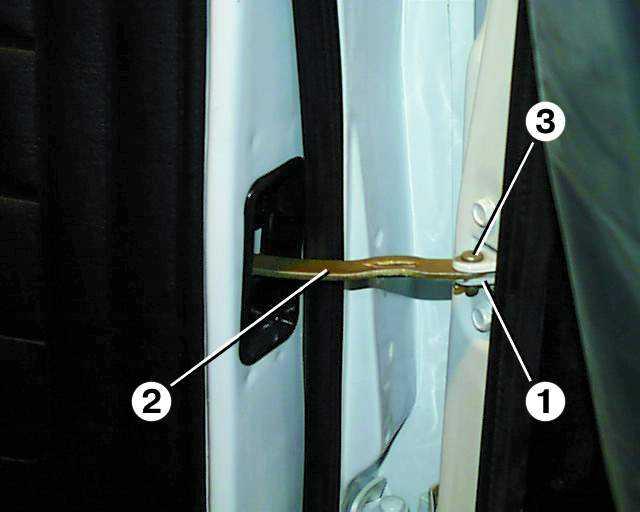 Как сделать дверь на волге